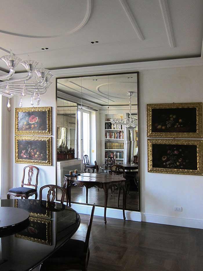Estate in milan lacquered cabinets interior decoration dotti