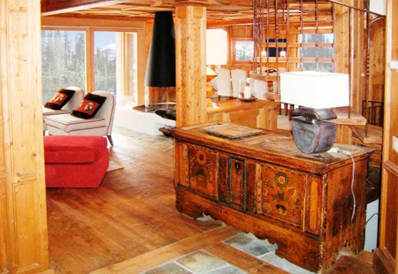 Chalet st moritz boiserie interior decoration dotti for Boiserie dwg